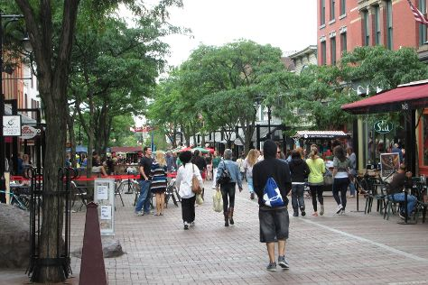 Church Street Marketplace, Burlington, United States