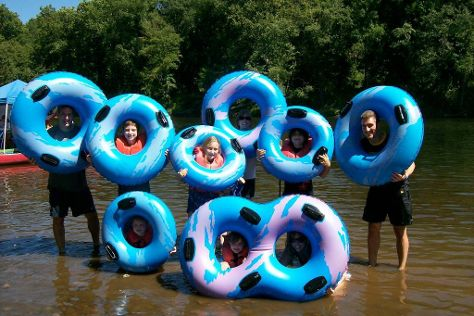 Delaware River Tubing, Frenchtown, United States