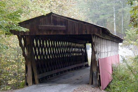 Easley Covered Bridge, Oneonta, United States