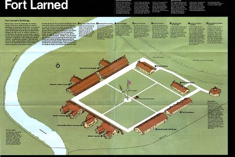 Fort Larned National Historic Site, Larned, United States