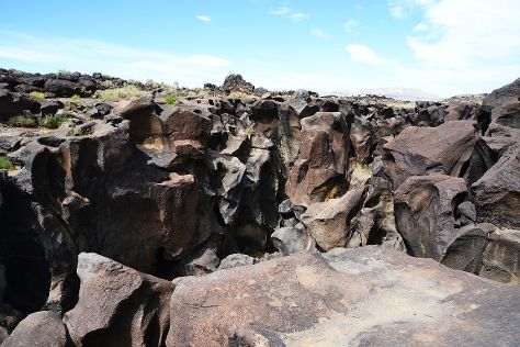 Fossil Falls, Little Lake, United States