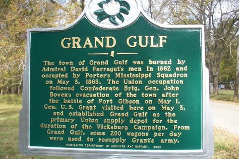Grand Gulf Military Park, Port Gibson, United States