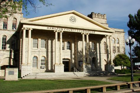 Hamilton County Courthouse, Hamilton, United States