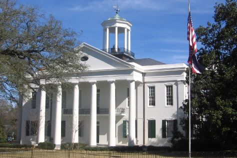 Hinds County Courthouse, Raymond, United States
