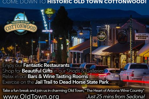 Historic Old Town Cottonwood, Cottonwood, United States