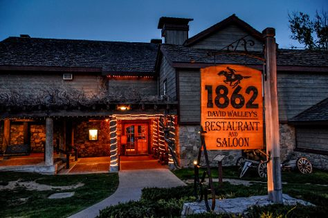 1862 David Walleys Restaurant and Saloon, Genoa, United States