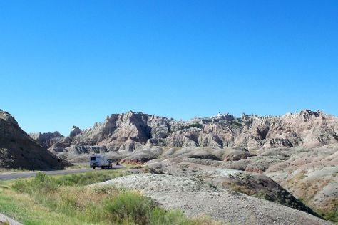 Loop Road, Badlands National Park, United States