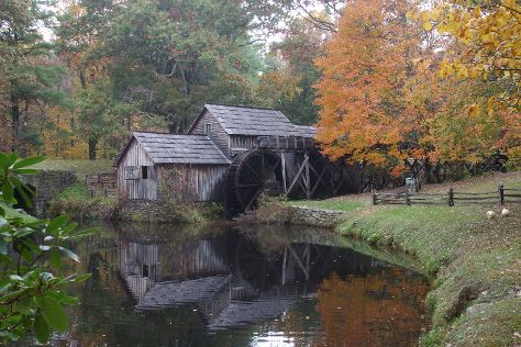 Mabry Mill, Meadows of Dan, United States