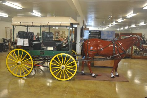 Millard County's Great Basin Museum, Delta, United States