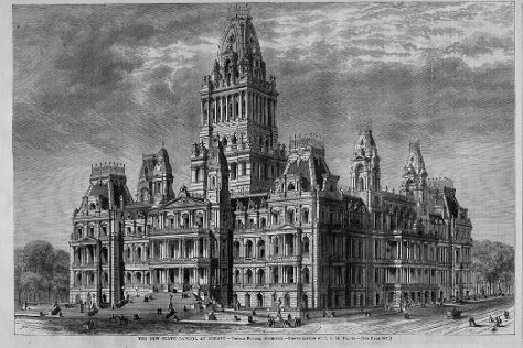 New York State Capitol, Albany, United States