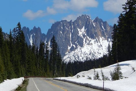 N Cascades Hwy, North Cascades National Park, United States