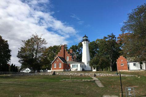Port Sanilac Lighthouse, Port Sanilac, United States