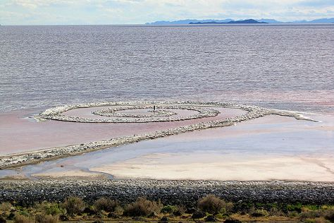 Spiral Jetty, Box Elder, United States