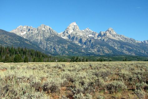 Teton Park Road, Grand Teton National Park, United States