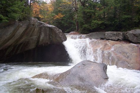 The Basin at Franconia Notch State Park, Franconia, United States