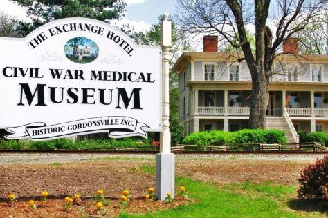 The Exchange Hotel Civil War medical Museum, Gordonsville, United States
