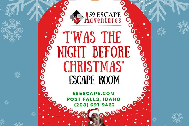 59:Escape Room Adventures, Post Falls, United States