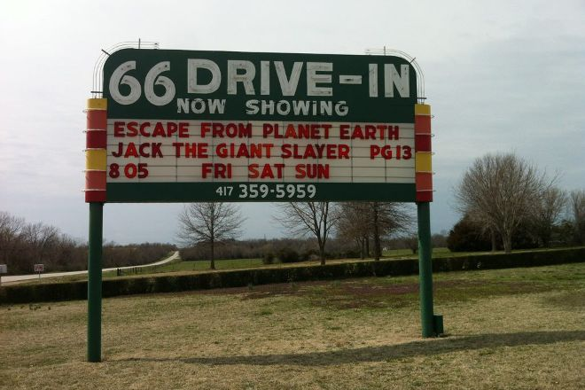 66 Drive-In Theatre, Carthage, United States