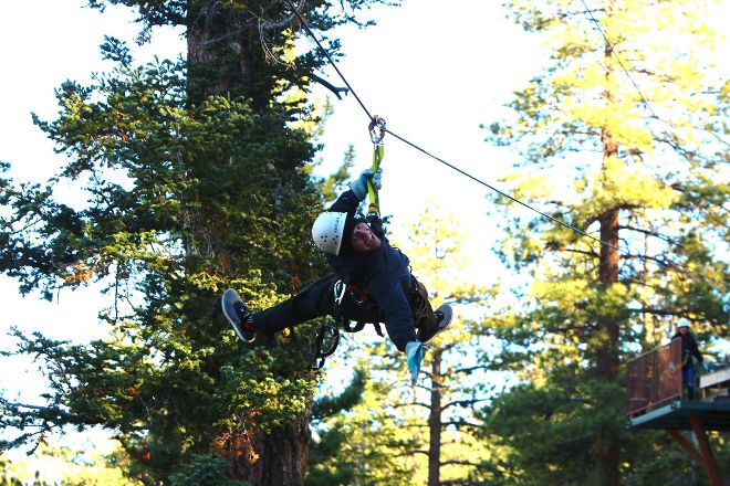 Action Zipline Tours, Big Bear Lake, United States