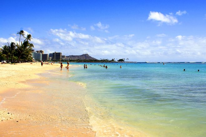 Ala Moana Beach Park, Honolulu, United States