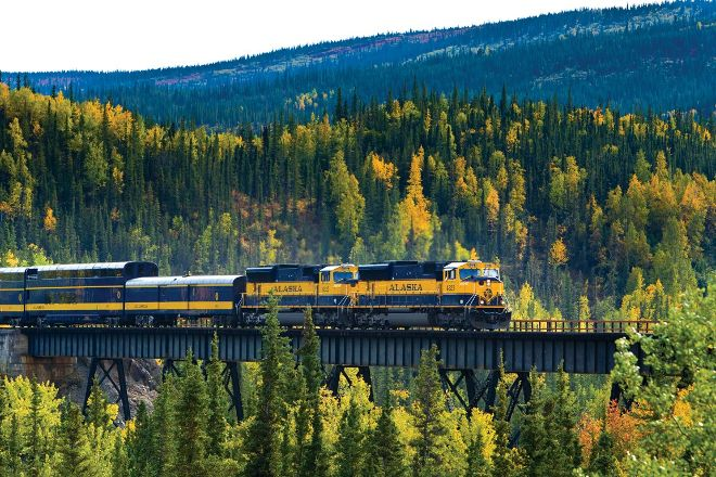 Alaska Railroad, Anchorage, United States
