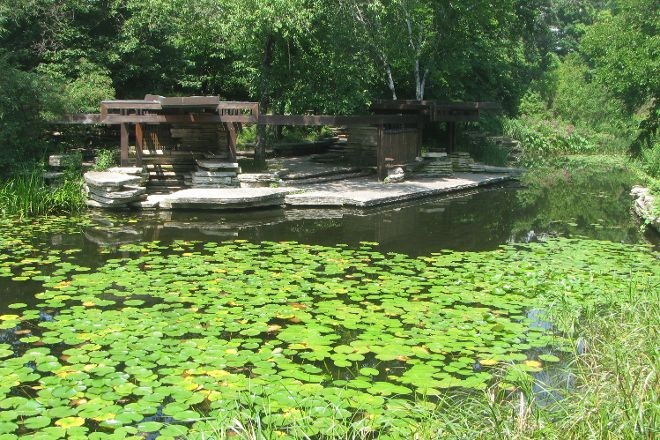 Alfred Caldwell Lily Pool, Chicago, United States