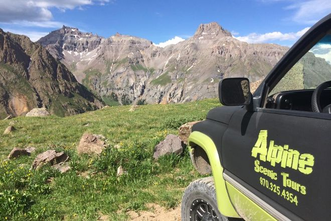 Alpine Scenic Jeep Tours, Ouray, United States