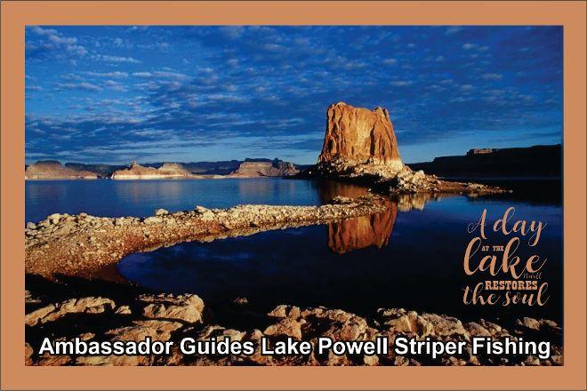 Ambassador Guides Lake Powell Striper Fishing, Page, United States