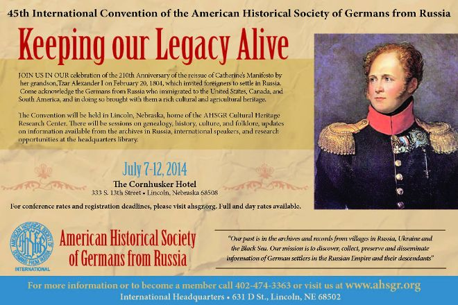American Historical Society of Germans From Russia Museum and Library, Lincoln, United States