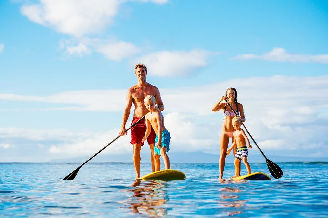 Anini Paddle Boarding, Kauai, United States