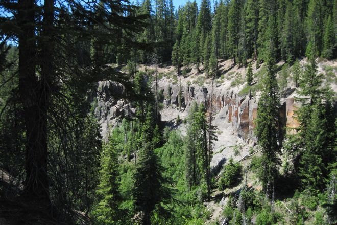 Annie Creek Canyon, Crater Lake National Park, United States