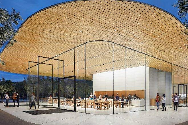 Apple Park Visitor Center, Cupertino, United States