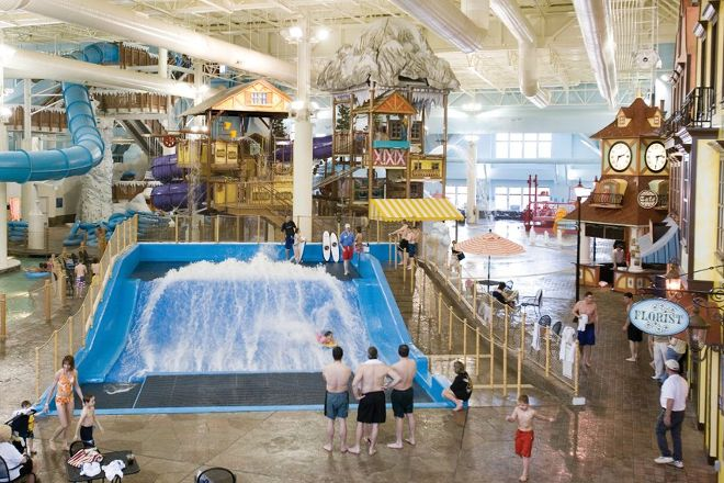 Avalanche Bay Indoor Waterpark, Boyne Falls, United States