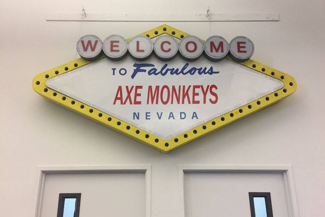 Axe Monkeys, Las Vegas, United States