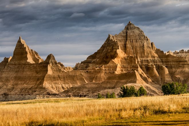 Badlands Wall, Badlands National Park, United States