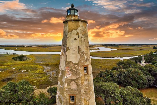 Old Baldy Lighthouse & Smith Island Museum, Bald Head Island, United States