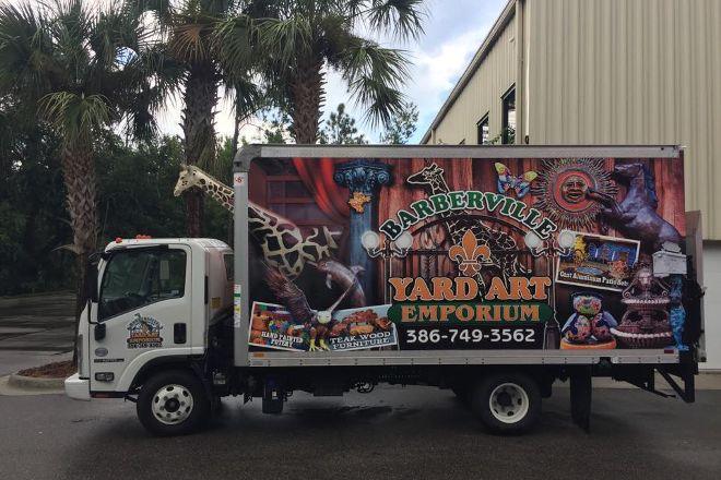 Barberville Roadside Yard Art & Produce, Barberville, United States