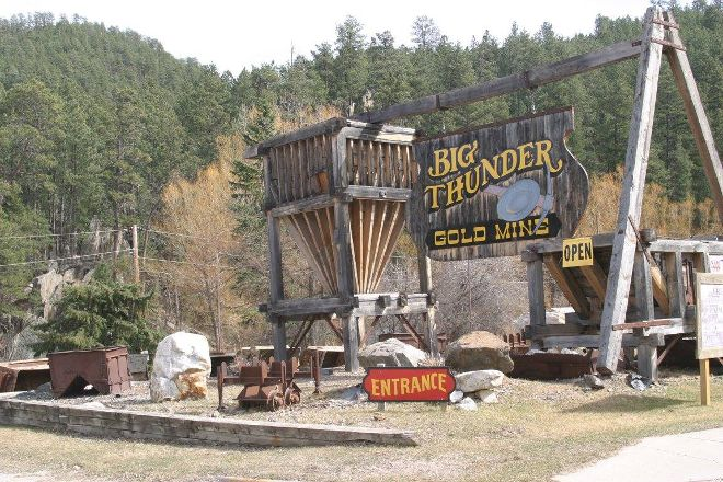 Big Thunder Gold Mine, Keystone, United States
