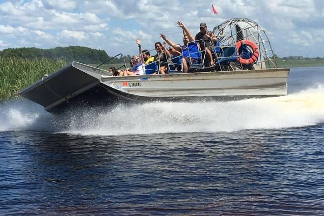 Big Toho Airboat Tours, Kissimmee, United States