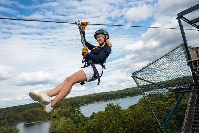Bigfoot Zipline, Wisconsin Dells, United States