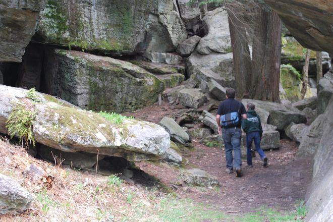 Bilger Rocks, Curwensville, United States