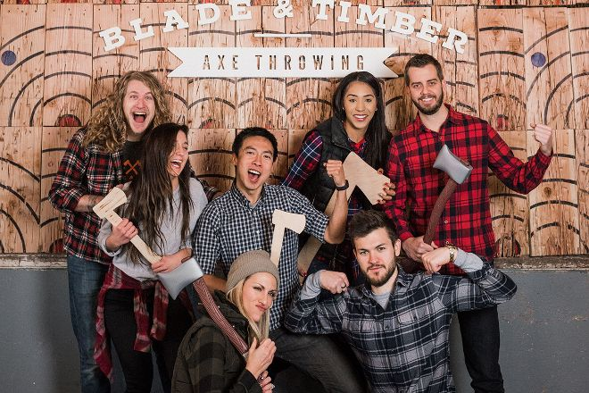 Blade & Timber Axe Throwing, Kansas City, United States