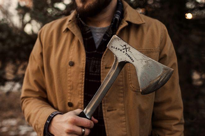 Blade & Timber Axe Throwing - Wichita, Wichita, United States