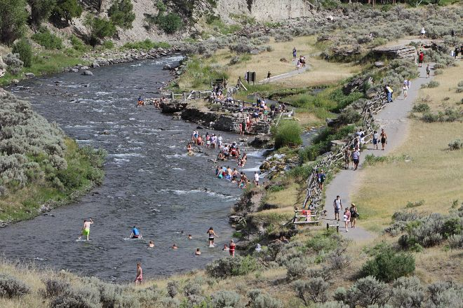 Boiling River, Yellowstone National Park, United States