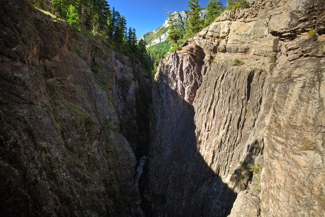 Box Canyon Waterfall & Park, Ouray, United States