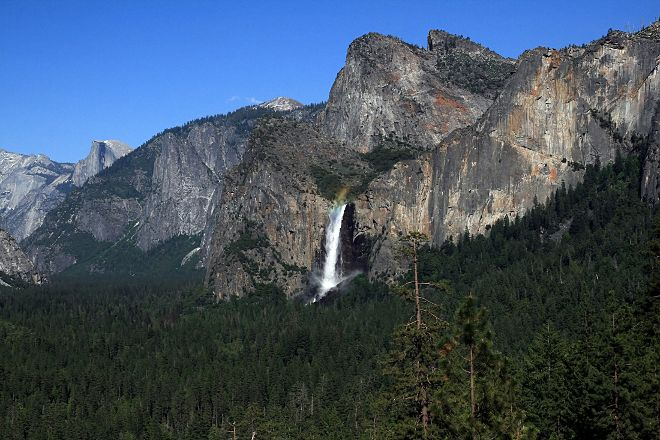 Bridalveil Fall, Yosemite National Park, United States