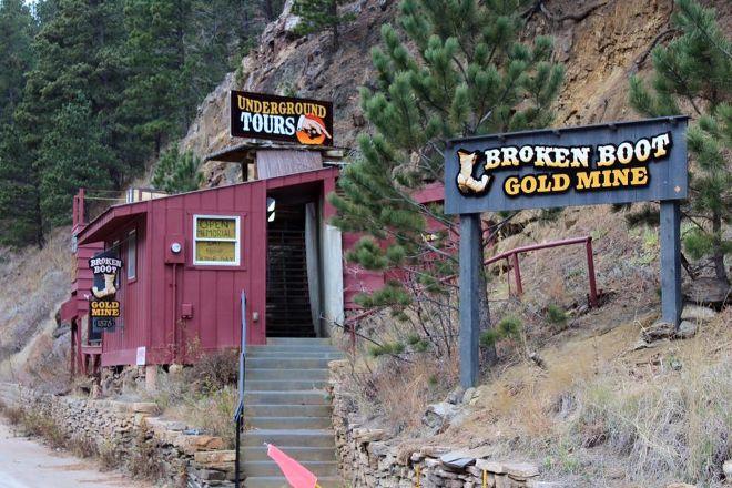 Broken Boot Gold Mine, Deadwood, United States