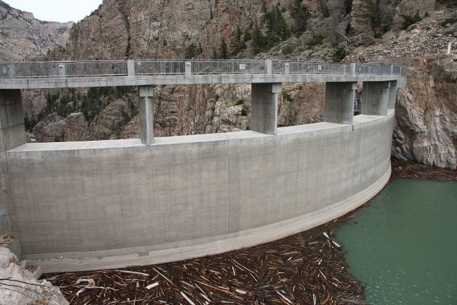 Buffalo Bill Dam, Cody, United States