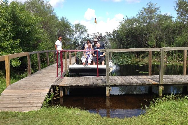 Buffalo Tiger's Airboat Tours, Miami, United States