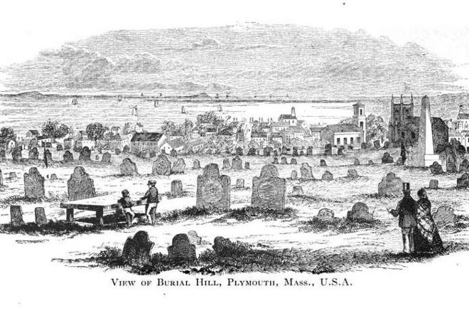 Burial Hill, Plymouth, United States
